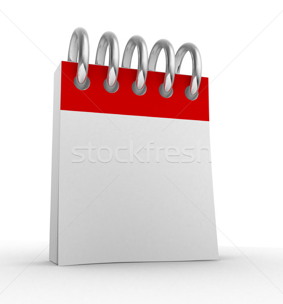 Blank calendar Stock photo © coramax