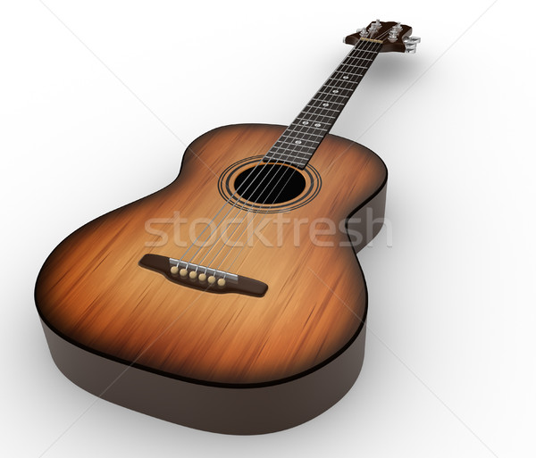 Acoustic guitar Stock photo © coramax