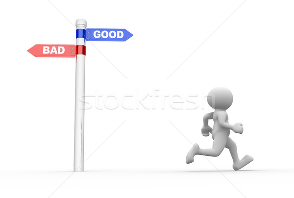 Confusion - good or bad Stock photo © coramax
