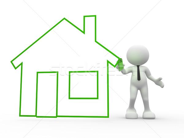 Stock photo: House