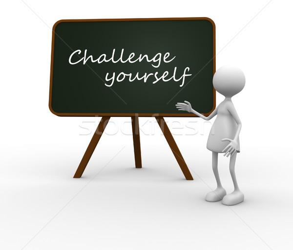 Challenge yourself Stock photo © coramax