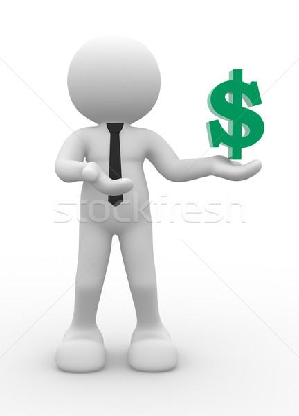 Dollar symbol Stock photo © coramax