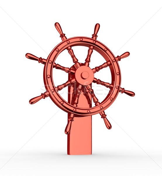 Ship wheel  Stock photo © coramax
