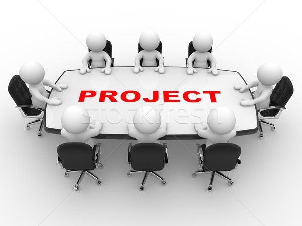 Project Stock photo © coramax