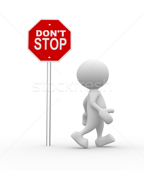 Don't stop Stock photo © coramax