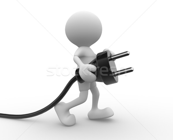 Electric plug Stock photo © coramax