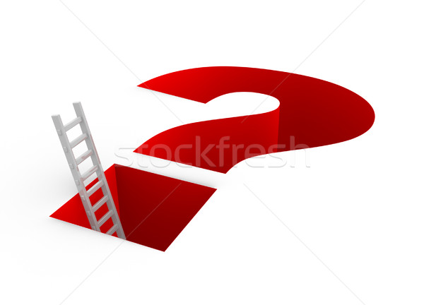 Question mark Stock photo © coramax