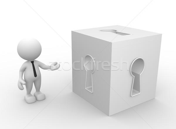 Keyhole Stock photo © coramax