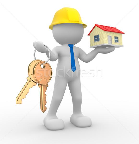 Builder   Stock photo © coramax