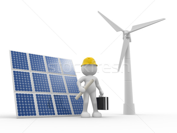 Wind-power Stock photo © coramax