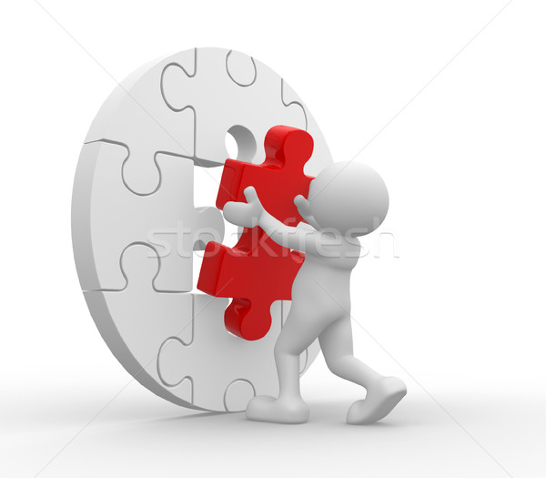 Puzzle Stock photo © coramax