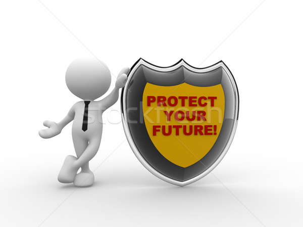 Protect your future  Stock photo © coramax