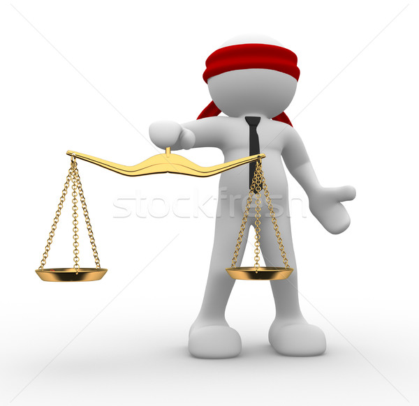 Justice scale  Stock photo © coramax