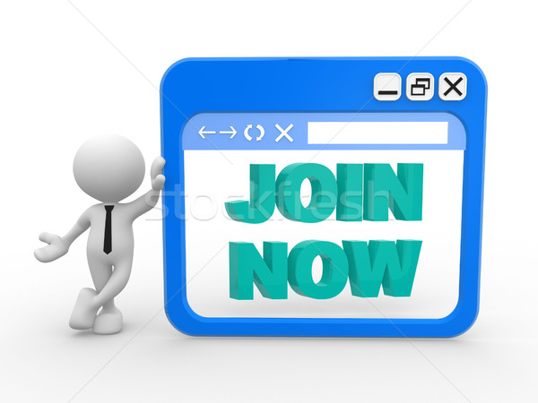 Join now Stock photo © coramax