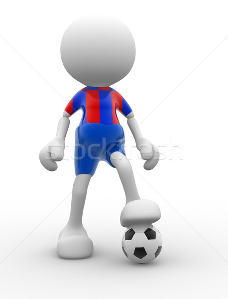 Football player Stock photo © coramax
