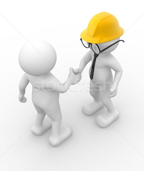 Handshake.  Stock photo © coramax