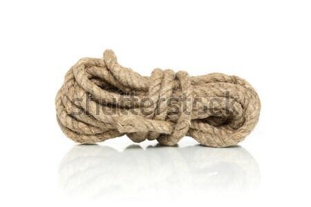 Hemp Rope Stock photo © cosma
