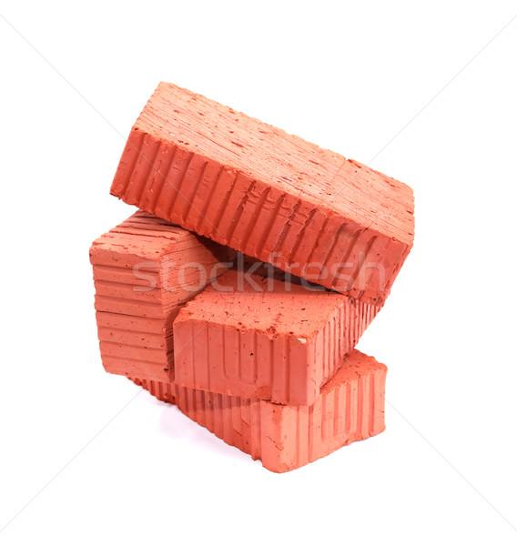 Bricks On White Stock photo © cosma