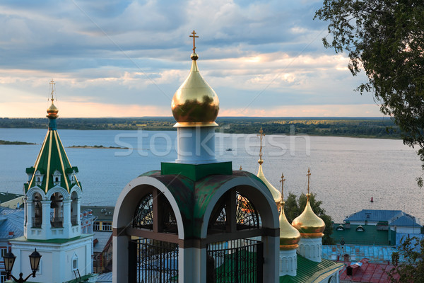 Sunset In Russia Stock photo © cosma