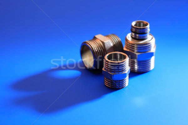 Set Of  Metal Nuts Stock photo © cosma