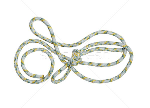 Rope On White Stock photo © cosma