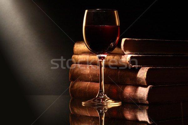 Wine And Books Stock photo © cosma