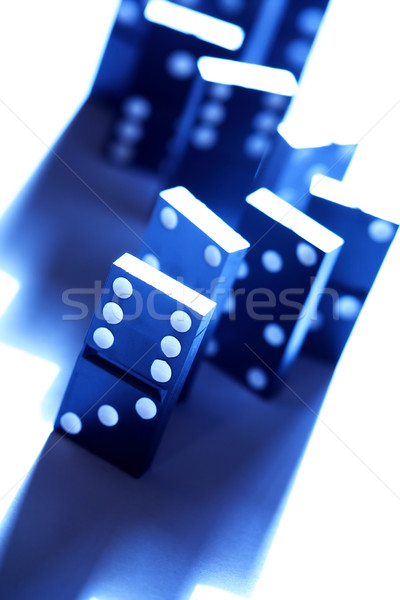 Domino Principle Concept Stock photo © cosma