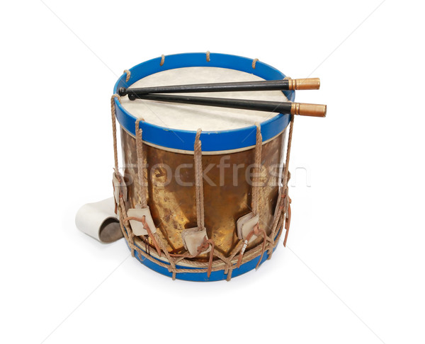 Ancient Drum Stock photo © cosma