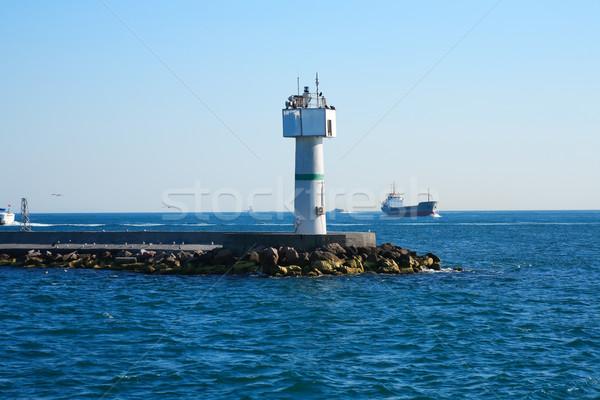 Sea Landscape With Lighthouse Stock photo © cosma