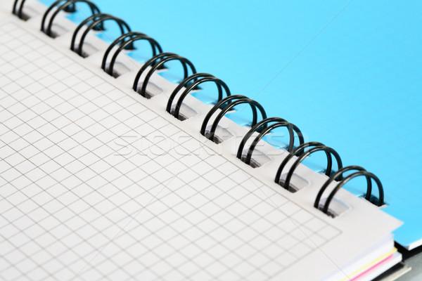 Spiral Notebook Background Stock photo © cosma