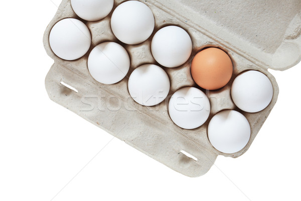 Eggs In Box Stock photo © cosma