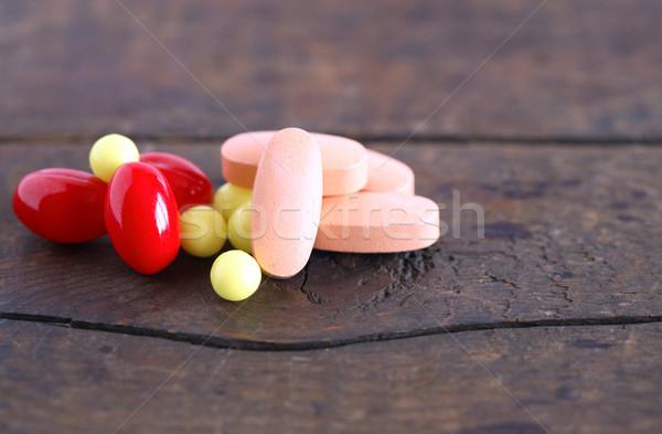 Various Pills Stock photo © cosma