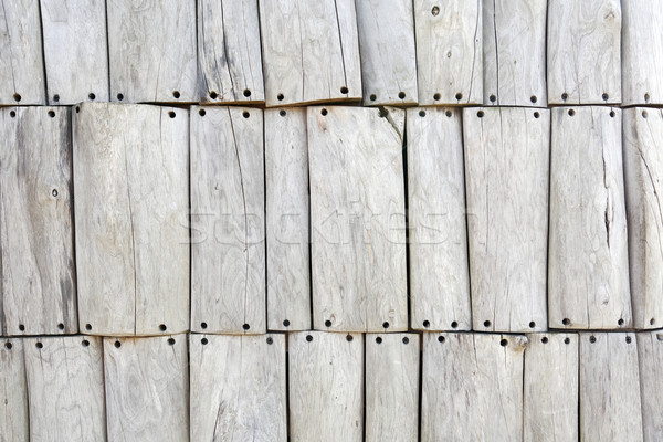Absztrakt fa háttér száraz szürke fából készült deszkák Stock fotó © cosma