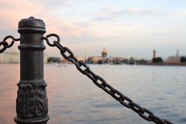Saint Petersburg In Russia Stock photo © cosma