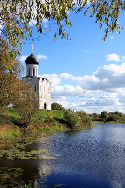 Ancient Russian Church Stock photo © cosma