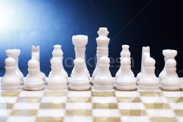 Chess Game Set Stock photo © cosma