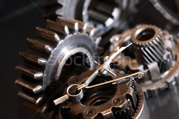 Parts Of Mechanism Stock photo © cosma