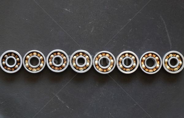 Ballbearings On Dark Stock photo © cosma