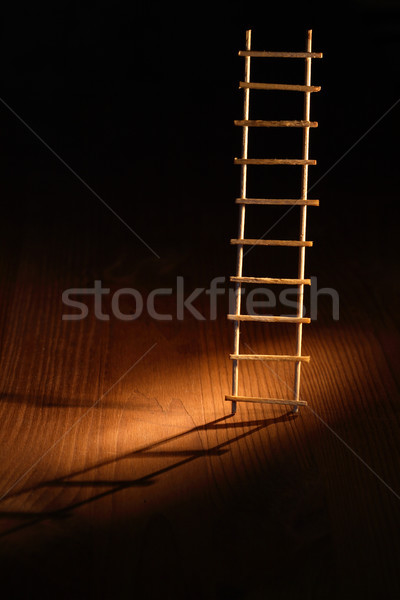 Сток-фото: лестнице · бежать · аннотация · тень · темно