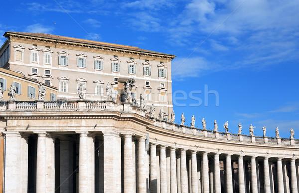 バチカン 宮殿 青空 イタリア 教会 ストックフォト © cosma