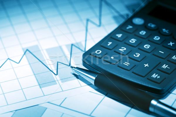 Financial Background Stock photo © cosma