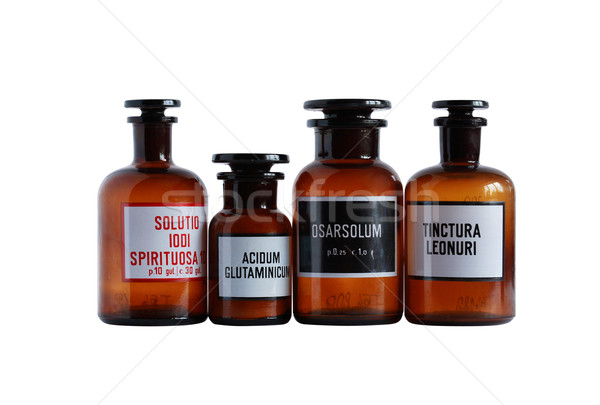 Old Pharmaceutical Phials Stock photo © cosma