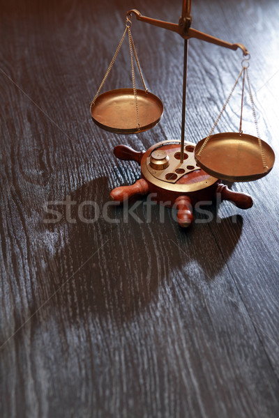 Ancient Weight Scales Stock photo © cosma