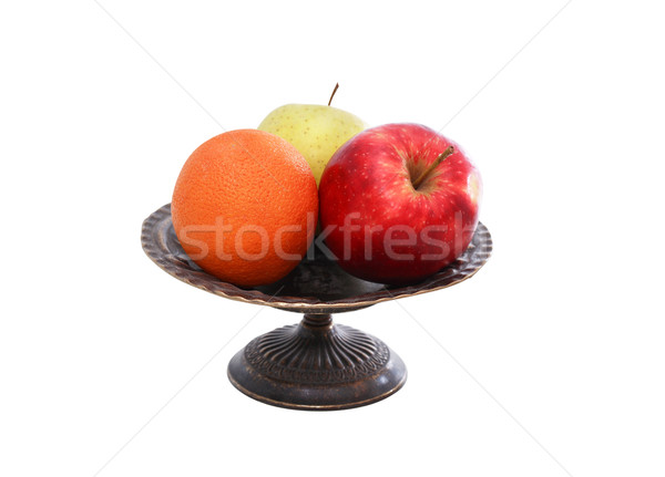Fruits In Bowl Stock photo © cosma