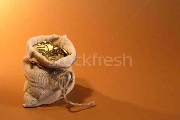 A Bag Fuul Of Money Stock photo © cosma