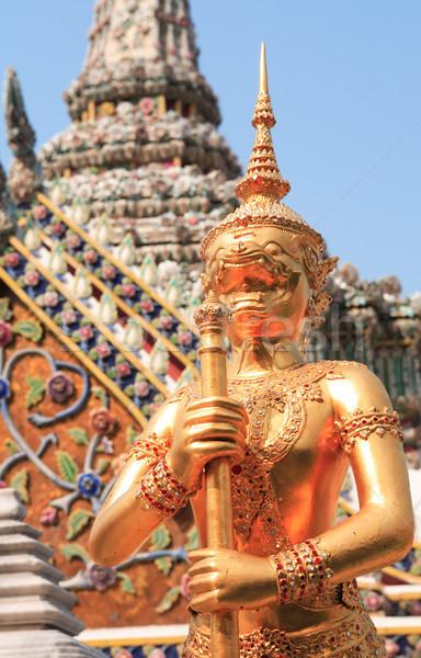 Reale palazzo tempio smeraldo buddha completo Foto d'archivio © cosma
