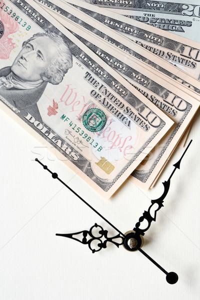 Время-деньги Vintage США банка отмечает Сток-фото © cosma