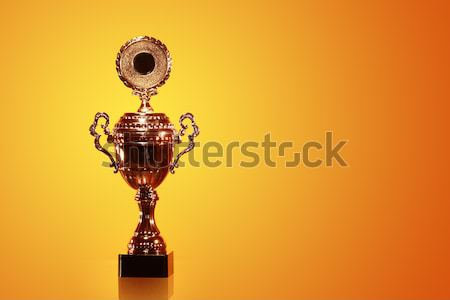 Gold Trophy Stock photo © cosma