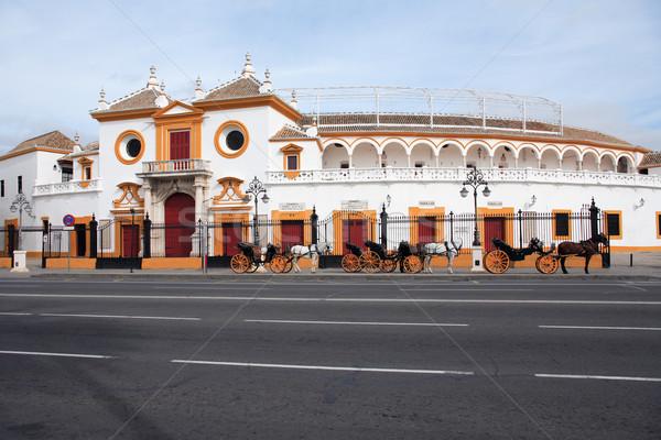 Stock photo: Seville Plaza De Toros