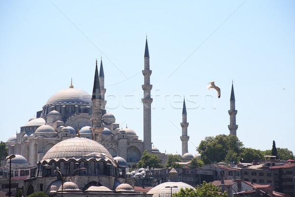 モスク イスタンブール 表示 有名な 古代 トルコ ストックフォト © cosma